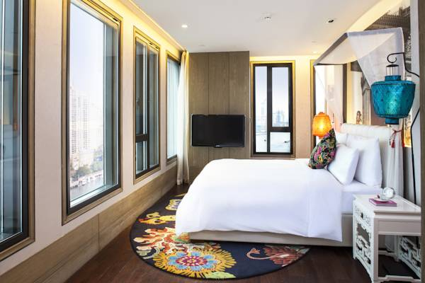 фотографии отеля Hotel Indigo Shanghai On The Bund изображение №7