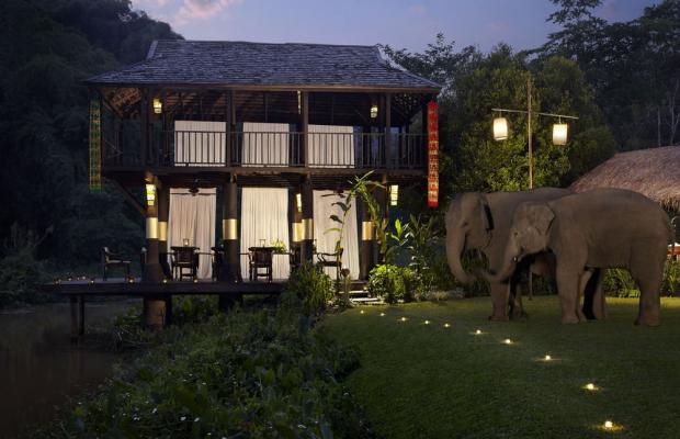фотографии Anantara Golden Triangle Elephant Camp & Resort изображение №4