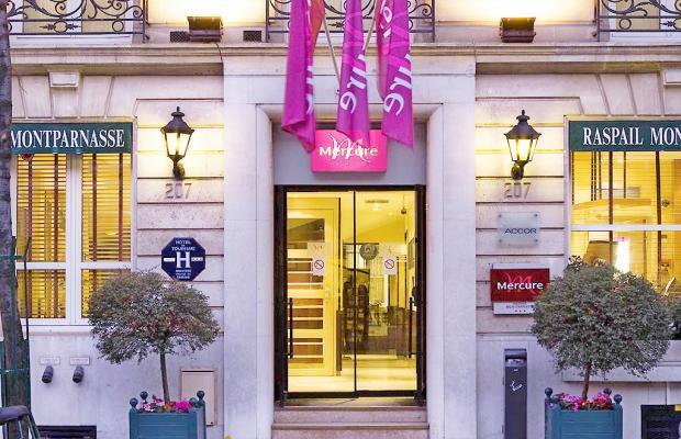 фото отеля Mercure Paris Montparnasse Raspail изображение №1